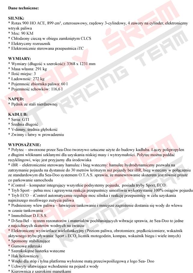 GTI 90 STD SS 2019 OPIS